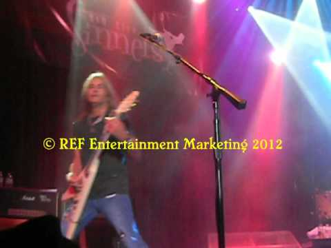 CARLOS CAVAZO does RATT Round&Round Part 5 Las Vegas Copyright REF Entertainment Marketing 2012