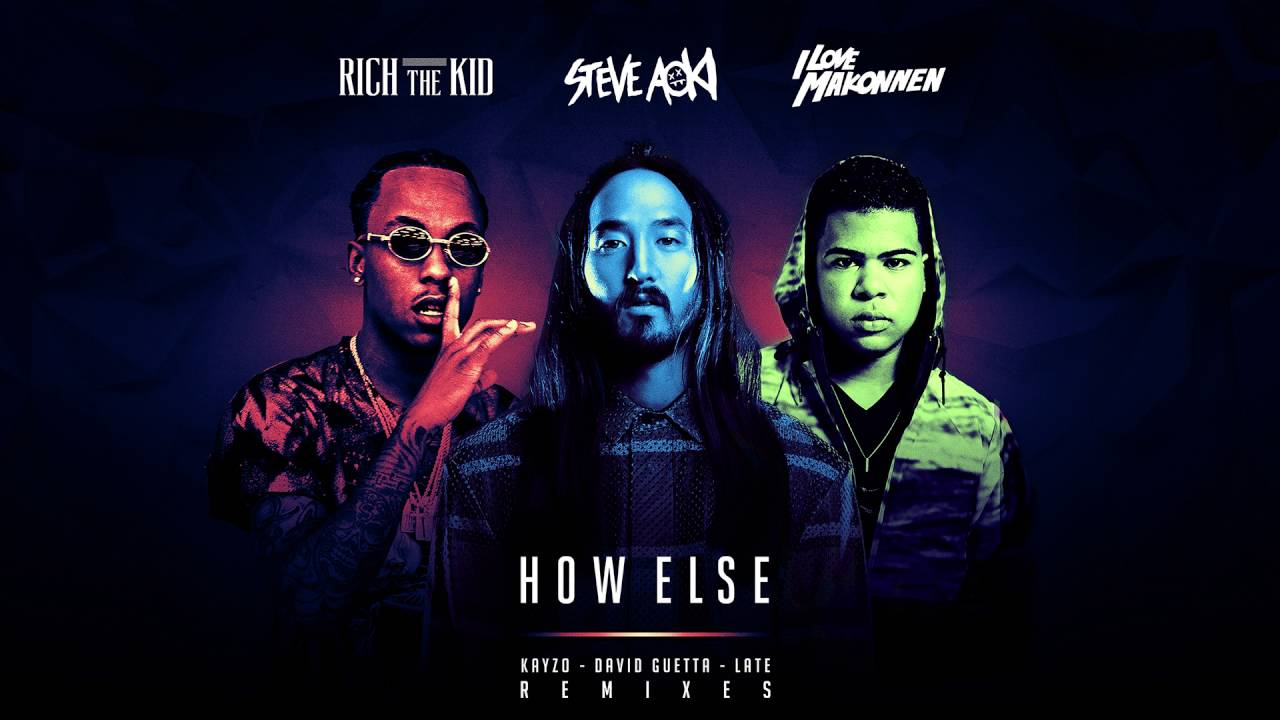 Steve Aoki - How Else feat. Rich The Kid & ILoveMakonnen (Kayzo Remix) [Cover Art]