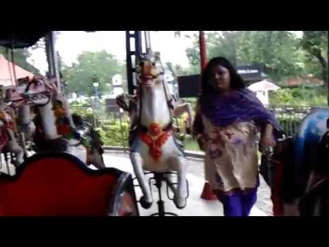 Fatty Woman Try To Horse Riding video