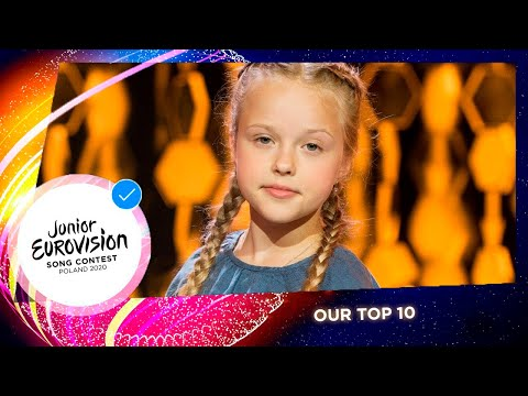 TOP 10 | Junior Eurovision Song Contest 2020