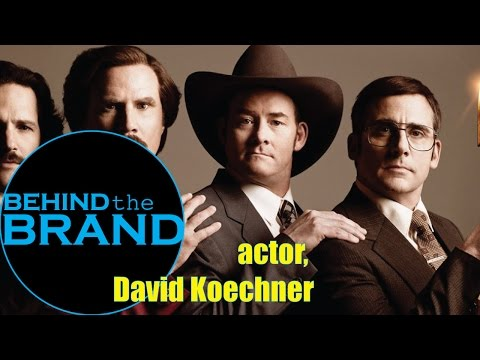 Anchorman--actor David Koechner
