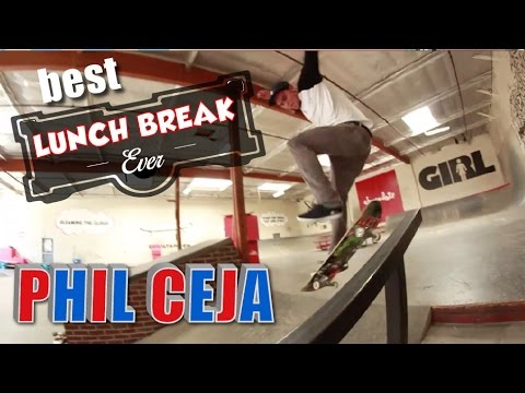 Best Lunch Break Ever | Phil Ceja Skates Crailtap Warehouse