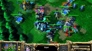 Night Elf vs Undead - KotH - Game 3 - WarCraft 3 - WC883