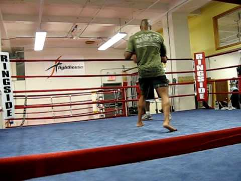 Quinton Rampage Jackson training at Fighthouse 1 Image 1