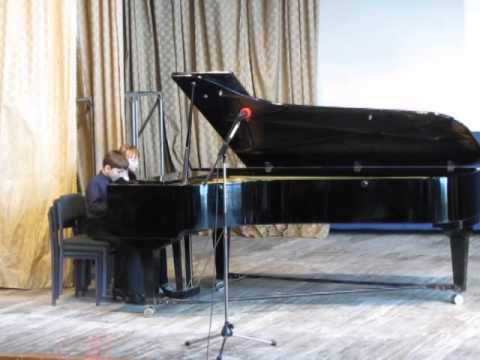 Хачатурян Карэн Суренович - ДВЕ ПЬЕСЫ (для фортепиано): 1. Восточный танец