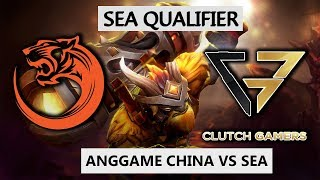 inYourdreaM ES GOD INSANE 17 KILL! - TNC TIGERS VS CLUTCH GAMERS - ANG GAME SEA #2 QUALIFIER