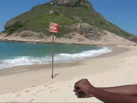 Pedra do Pontal Tim Maia - Praia do Recreio Parte 1