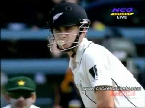 Kane Williamson blowing bubbles