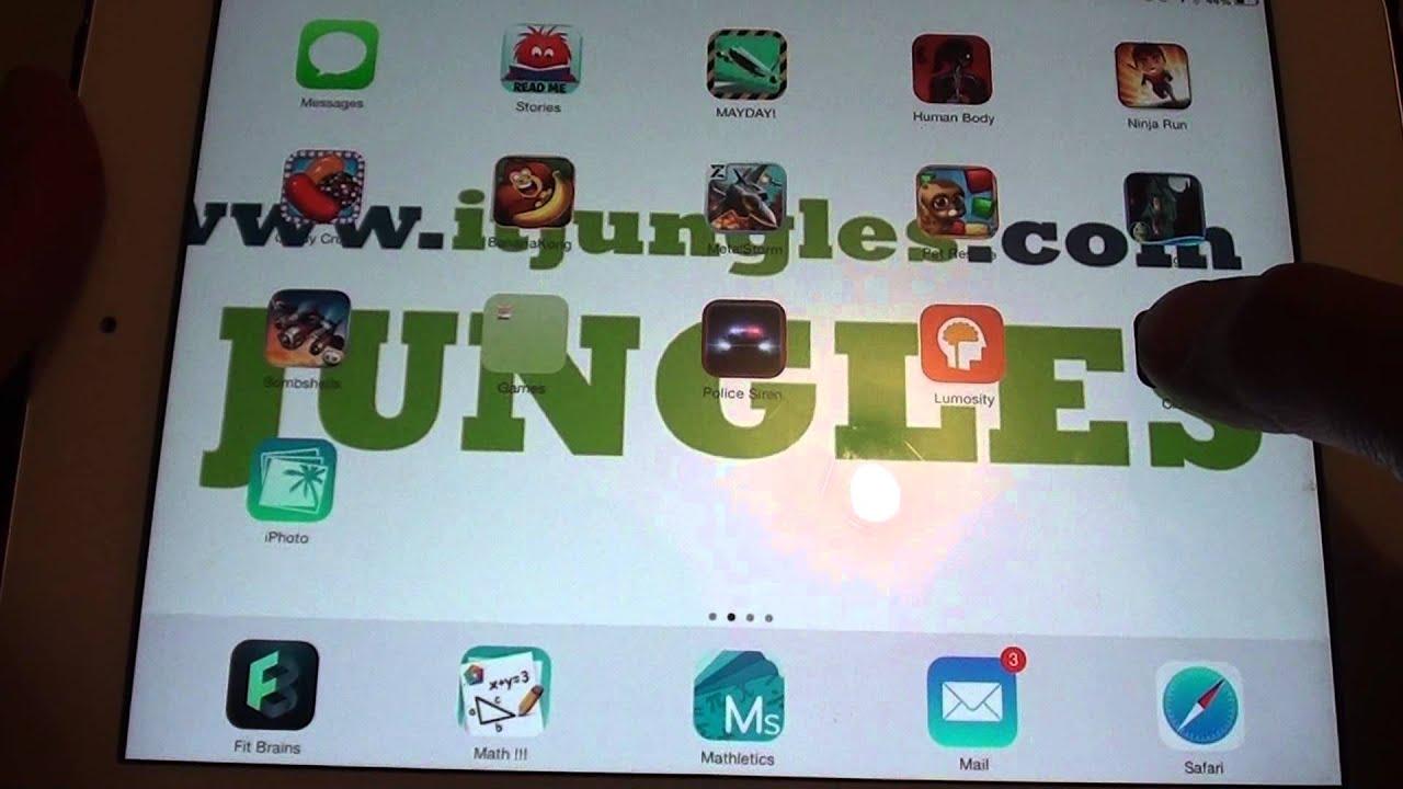 Ipad Mini Icons Ipad Mini Ios 7 How to Add