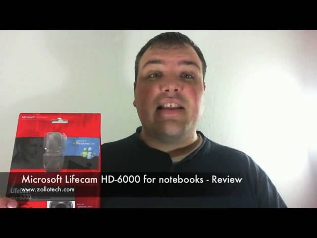 Microsoft Lifecam HD-6000 for notebooks -  Review