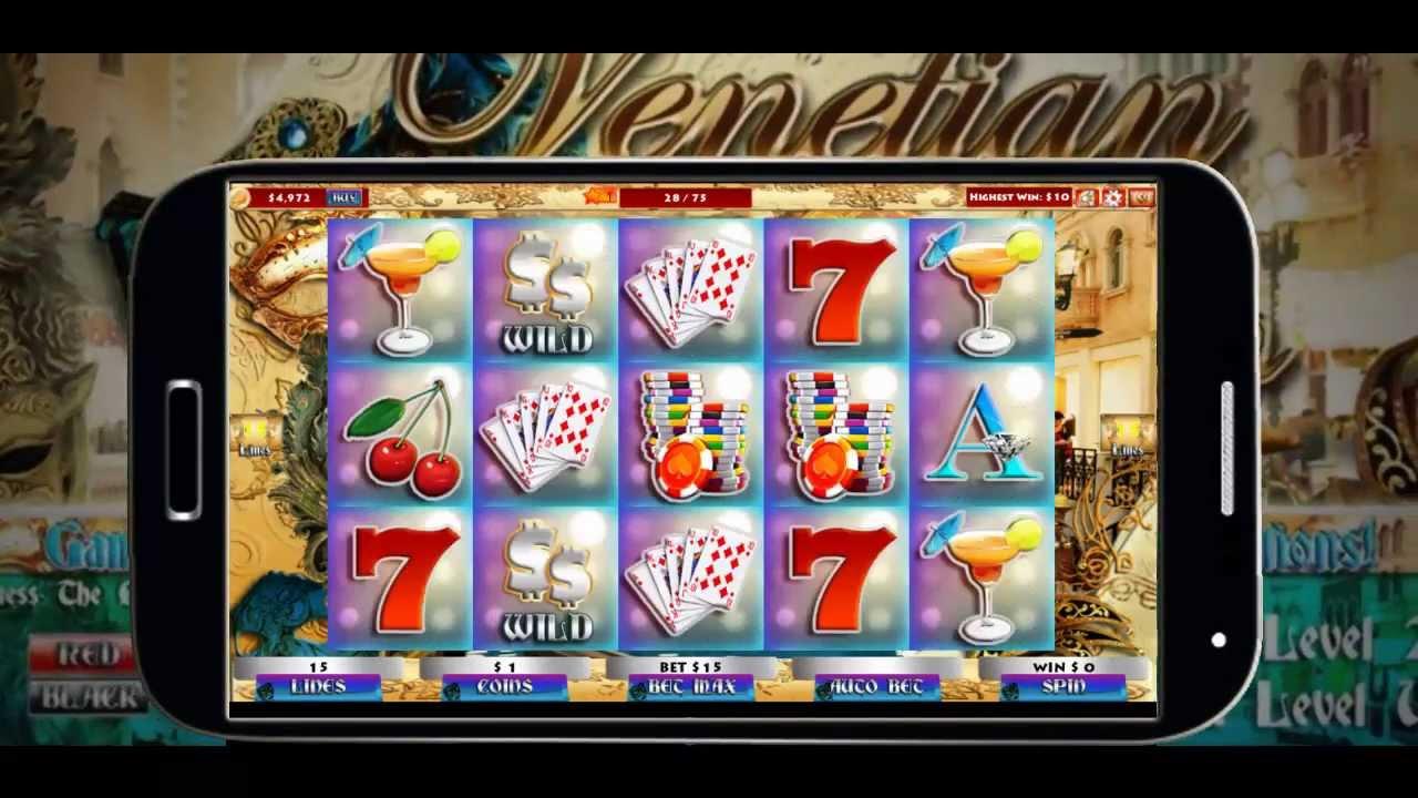 venetian slot machine finder