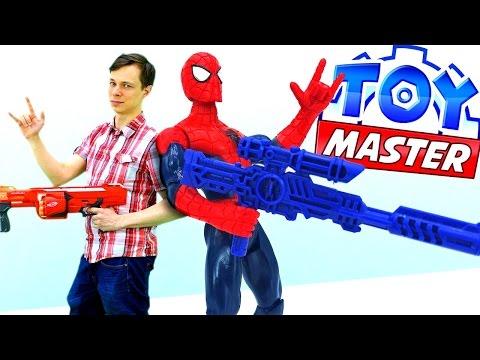 Федор Toy Master🔧и #ЧеловекПаук против ПРИЗРАКОВ 👻Джокера и Бэйна. Часы Yo-Kai Watch распаковка!