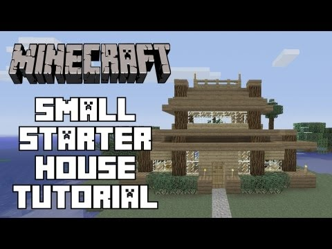Minecraft House Tutorial | Simple Starter House|