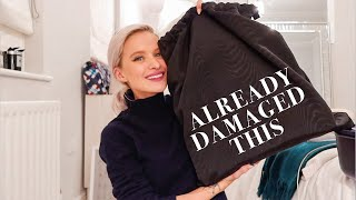 LUXURY BAG UNBOXING AND THEN I DAMAGED IT IN LA | INTHEFROW