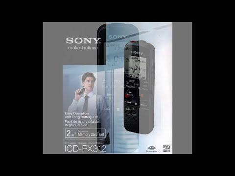 Gravador Sony ICD PX312 - Análise