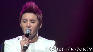 [Fancam] 알면서도(Although I Already Know) - Xia Junsu 120830