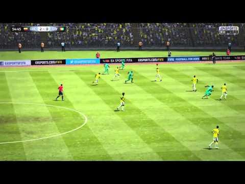 World Cup 2014 - Colombia vs Côte d'Ivoire [Ivory Coast] - EA Sports FIFA 15