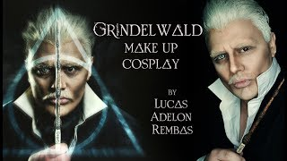 GRINDELWALD makeup/cosplay by Lucas Adelon Rembas | Fantastic Beasts the Crimes of Grindelwald