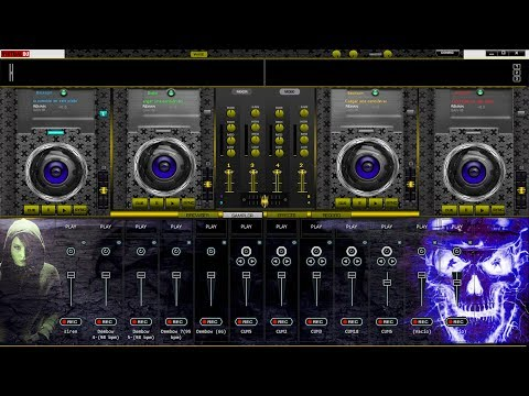 Como Descargar Skins Para Virtual Dj Pro 7 Y Home, Skins De 4 Platos