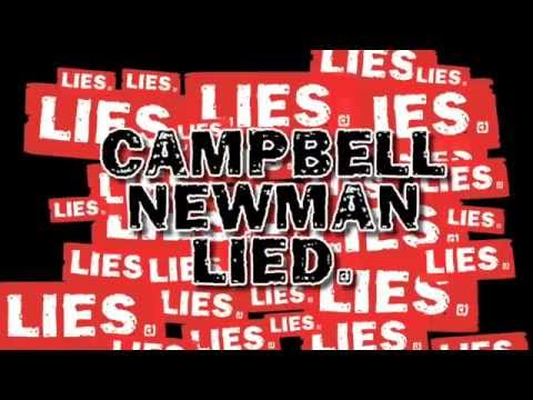 Late 2014 Campbell Newman said he gave health workers in Queensland a pay rise (2.2%) in line with inflation (2.6%). What lies will he tell next? www.nomorel...