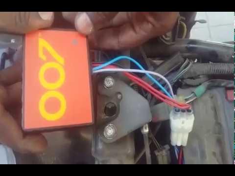 OO7 GPS VEHICLE TRACKER INSTALLATION FOR BIKE