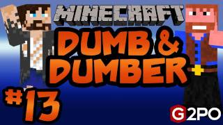 Dumb and Dumber on Minecraft - Deadly Cookie Jar Ep.13   Castaway Island