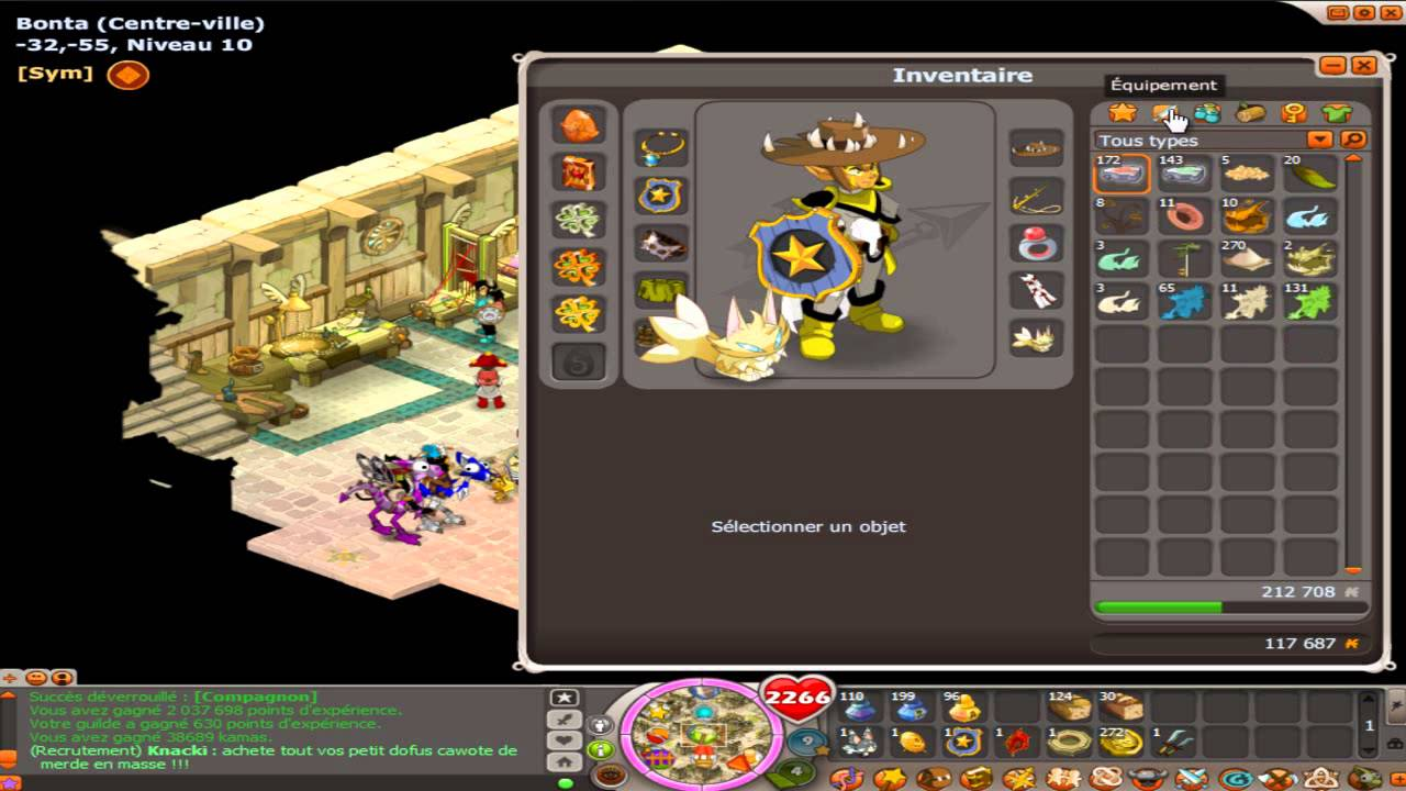 comment devenir costumage a dofus