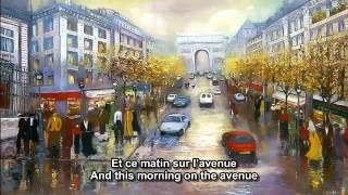 Les Champs Elysees Joe Dassin French And English Subtitles