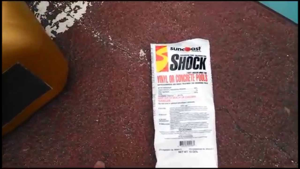 Swimming Pool Chlorine Conditioner Stabilizer Dichlor Youtube