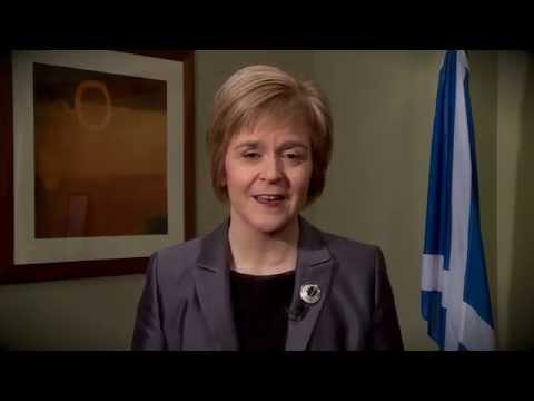 Video: Nicola Sturgeon's St Andrew's Day message