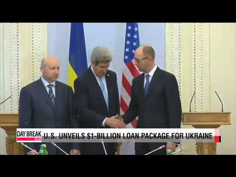 U.S. unveils $1 billion loan package for Ukraine