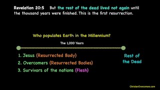 ONLY The Dead In Christ Rise (Revelation 20 C)