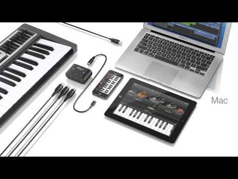 iRig MIDI 2 Universal MIDI interface for iPhone, iPod touch, iPad and Mac/PC