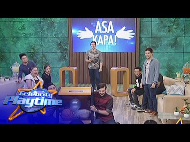 Celebrity Playtime: Asa Ka Pa