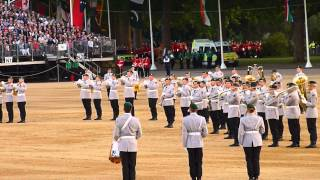 The Household Division's Beating Retreat 2015 03