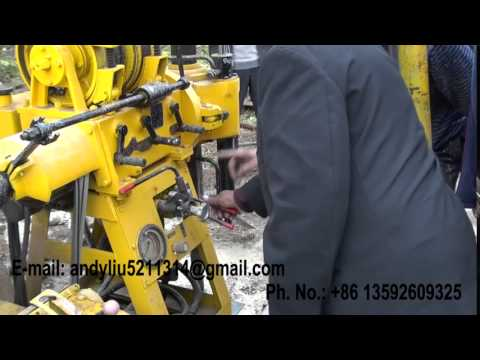 hydraulic drilling rig video 17 for upoad