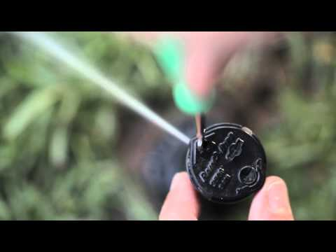 how to turn on sprinkler system manually