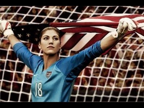 Hope Solo, goalie, Woman's Olympic Soccer team USA Gold Medal, Corporate San Jose video production