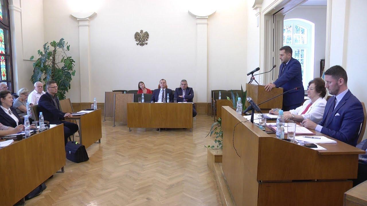 XLI sesja Rady Miejskiej, część I