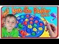 Let's Go Fishing Game! La pescuit cu Bogdan`s Show si Anabella Show mp3 indir