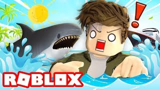Can we SURVIVE in Roblox Shark Bite!?