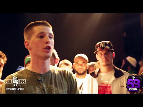 Don't Flop Rap Battle | ARSONAL VS CHARRON