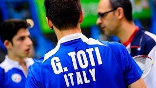 YONEX ITALIAN INTERNATIONAL 2017, day 3: il Direttore Tecnico della Nazionale, Arturo Ruiz