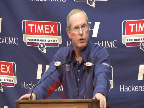 GIANTS VS JETS 2011 - TOM COUGHLIN