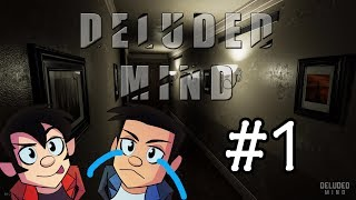 HATE HORROR GAMES ! DELUDED MIND | GAMEPLAY - PART 1 | Goofin Group