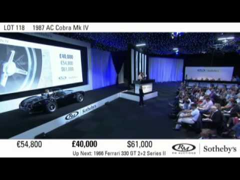 RM Sotheby's London 2015 auction repeat stream