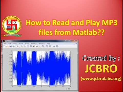 How to read and play MP3 sound using Matlab?