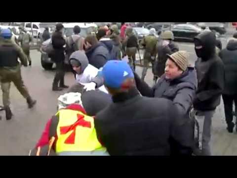 Иван Проценко о нападении на активистов 15 числа