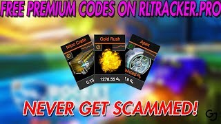 Best way to Trade, Find Scammers, And Check Prices   Rocket League   Free Premium Codes RLTRACKERPRO