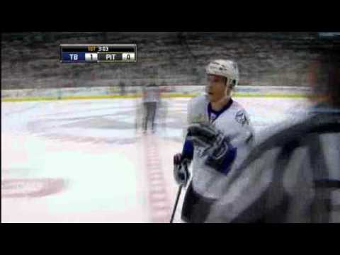 Tic-Tac-Toe - Gagne Scores On Superb Passing Play In Lightning Win Over Pens (video)